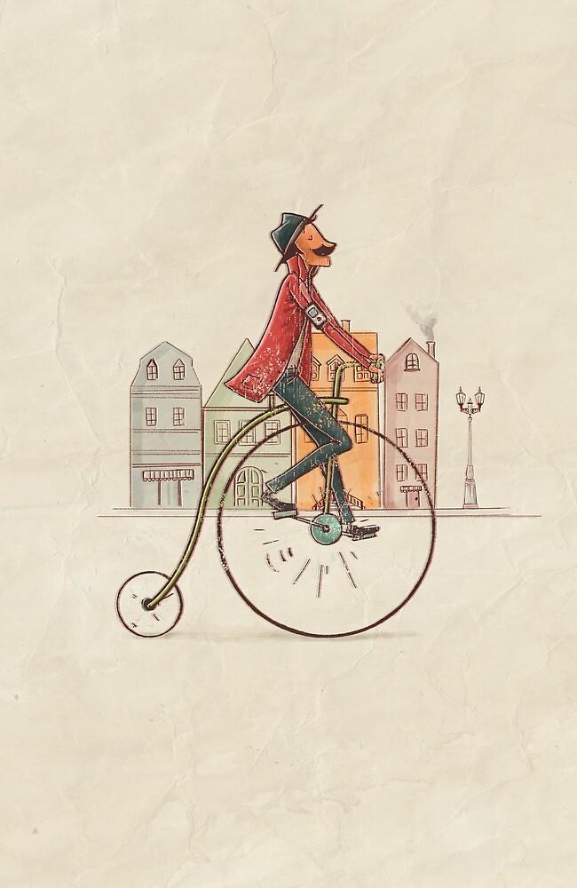 Vintage illustration by diegocaceres