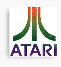 Atari - distressed Canvas Print