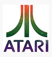 Atari - distressed Photographic Print