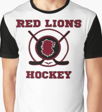 Voltron - On Thin Ice Red Lions Graphic T-Shirt