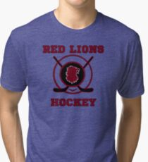 Voltron - On Thin Ice Red Lions Tri-blend T-Shirt