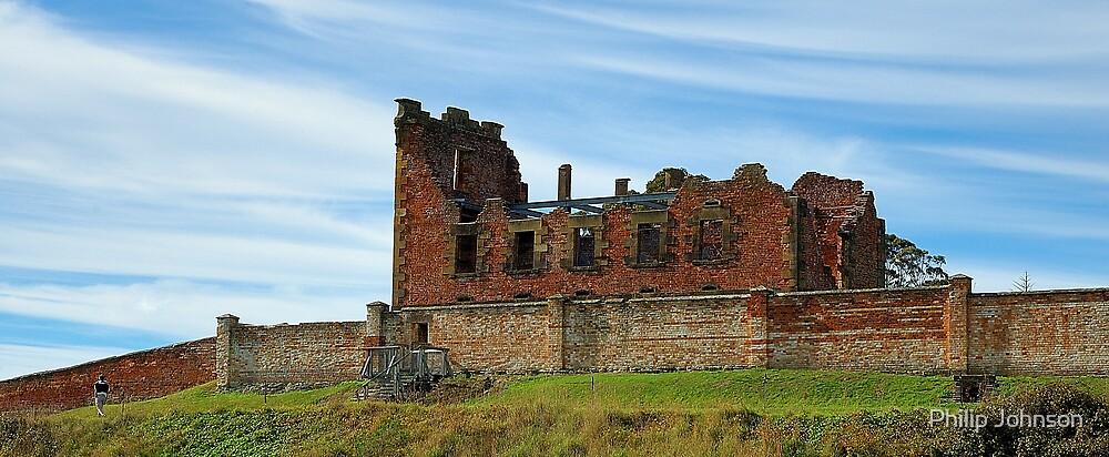 """The Asylum"" - Port Arthur Historic Site, Tasmania Australia by Philip Johnson"