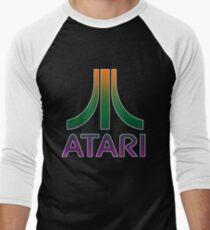 Atari Logo Men's Baseball ¾ T-Shirt