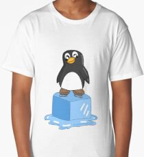 Penguin on ice Long T-Shirt