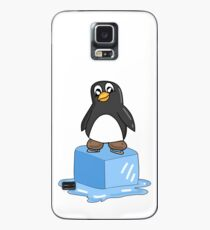 Penguin on ice Case/Skin for Samsung Galaxy