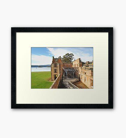"The Penetentiary"" - Port Arthur Historic Site,Tasmania Austrralia Framed Print"