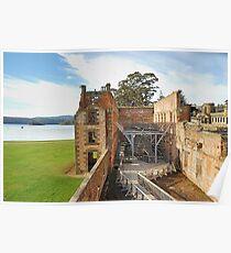 "The Penetentiary"" - Port Arthur Historic Site,Tasmania Austrralia Poster"