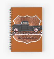 47-55 advance truck Spiral Notebook