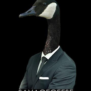 Gentleman Goose by SavageGeese