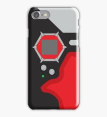 D-tector phone | Red version iPhone Case/Skin