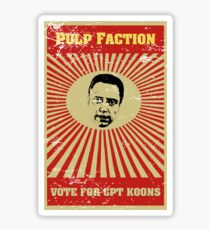 Pulp Faction - CPT Koons Sticker