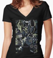 Beetlejuice - Adam & Barbara Women's Fitted V-Neck T-Shirt
