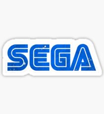 Sega - distressed Sticker