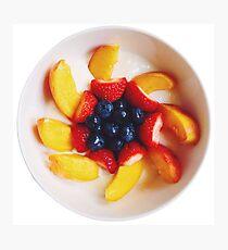 Fruit Bowl Photographic Print