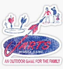 JARTS Missile Game Sticker