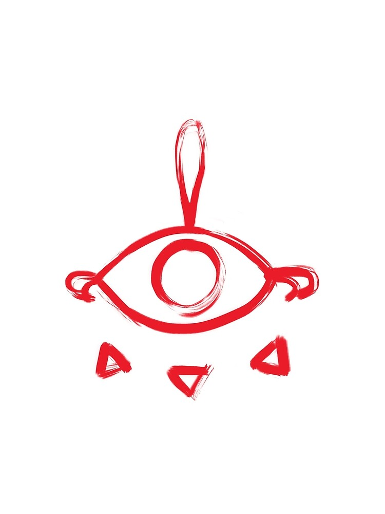 yiga clan war paint symbol graphic t shirt by oldmanrupee redbubble  yiga clan war paint symbol by oldmanrupee