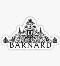 Barnard College Gate/Bear Sticker