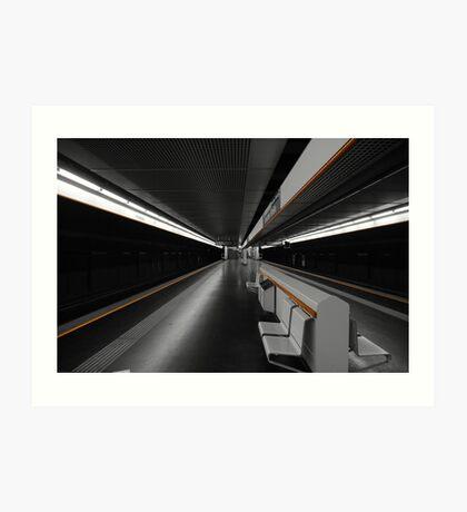 Deeper Underground Art Print