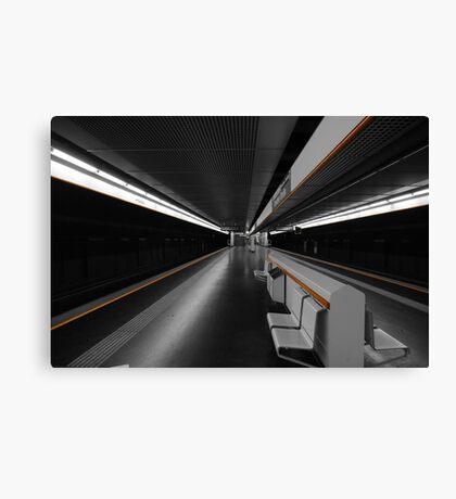Deeper Underground Canvas Print