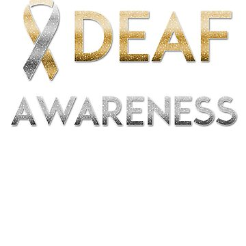 American Sign Language Tshirt - Deaf Awareness ASL by Cannattire2015