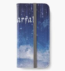 ACOMAF Starfall Scene (text) iPhone Wallet/Case/Skin