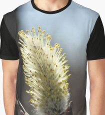 Back Lit Pussywillow Graphic T-Shirt