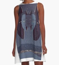 Moonlight A-Line Dress