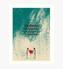 The Chainsmokers Last Day Alive Art Print