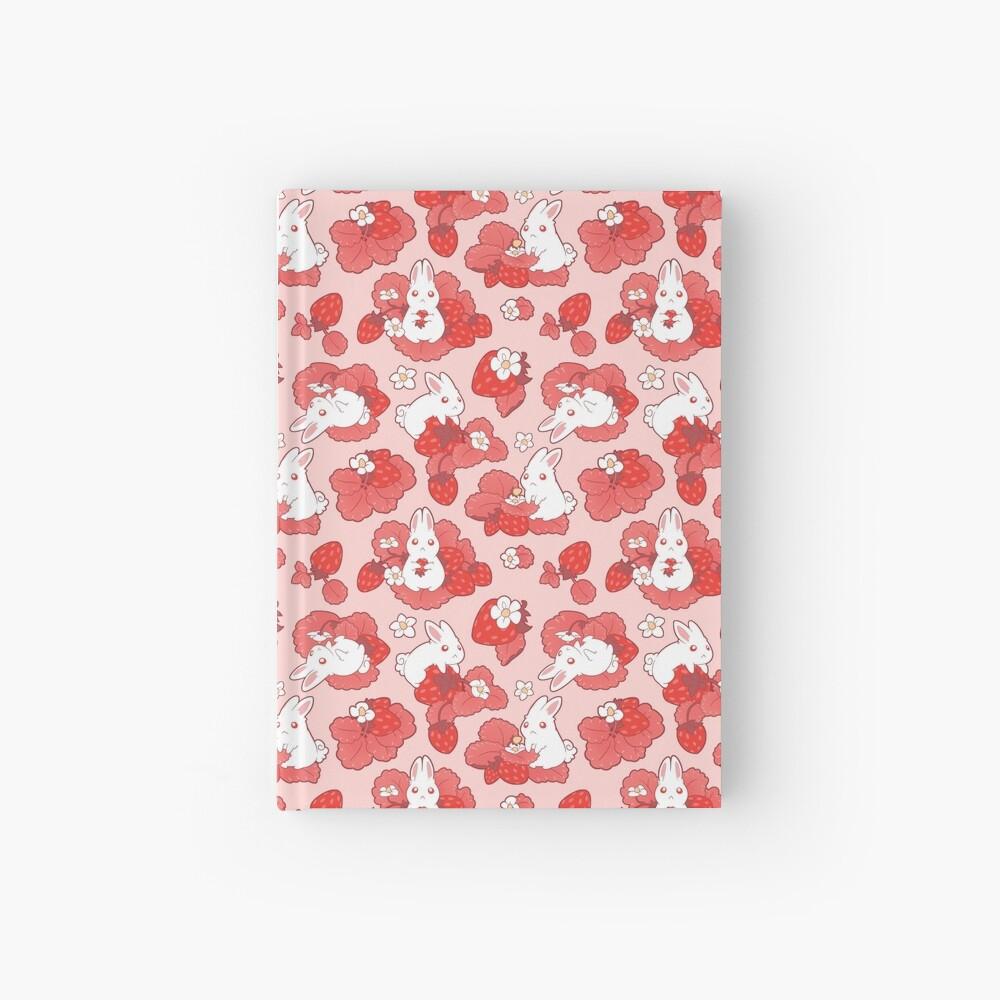 Strawbunny Delight Hardcover Journal