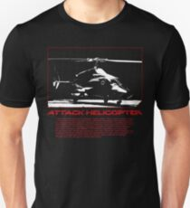 I Identify as an Attaack helicopter - Airwolf Edition Unisex T-Shirt