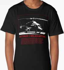 I Identify as an Attaack helicopter - Airwolf Edition Long T-Shirt
