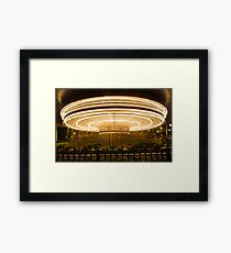 The Carousel Framed Print