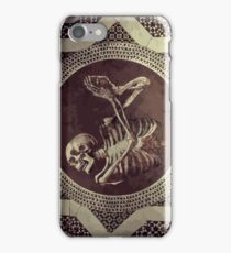 Hannibal: Dancing Skull + Skeleton Mosaic  iPhone Case/Skin