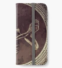 Hannibal: Dancing Skull + Skeleton Mosaic  iPhone Wallet/Case/Skin