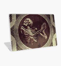 Vinilo para portátil Hannibal: Dancing Skull + Skeleton Mosaic