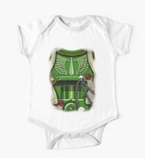 Armour of the Green Swords with Wings One Piece - Short Sleeve