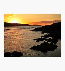 Torrisdale Bay Sunset Photographic Print
