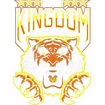 The Walking Dead The Kingdom Shiva Tiger T Shirt   by Gavinstees