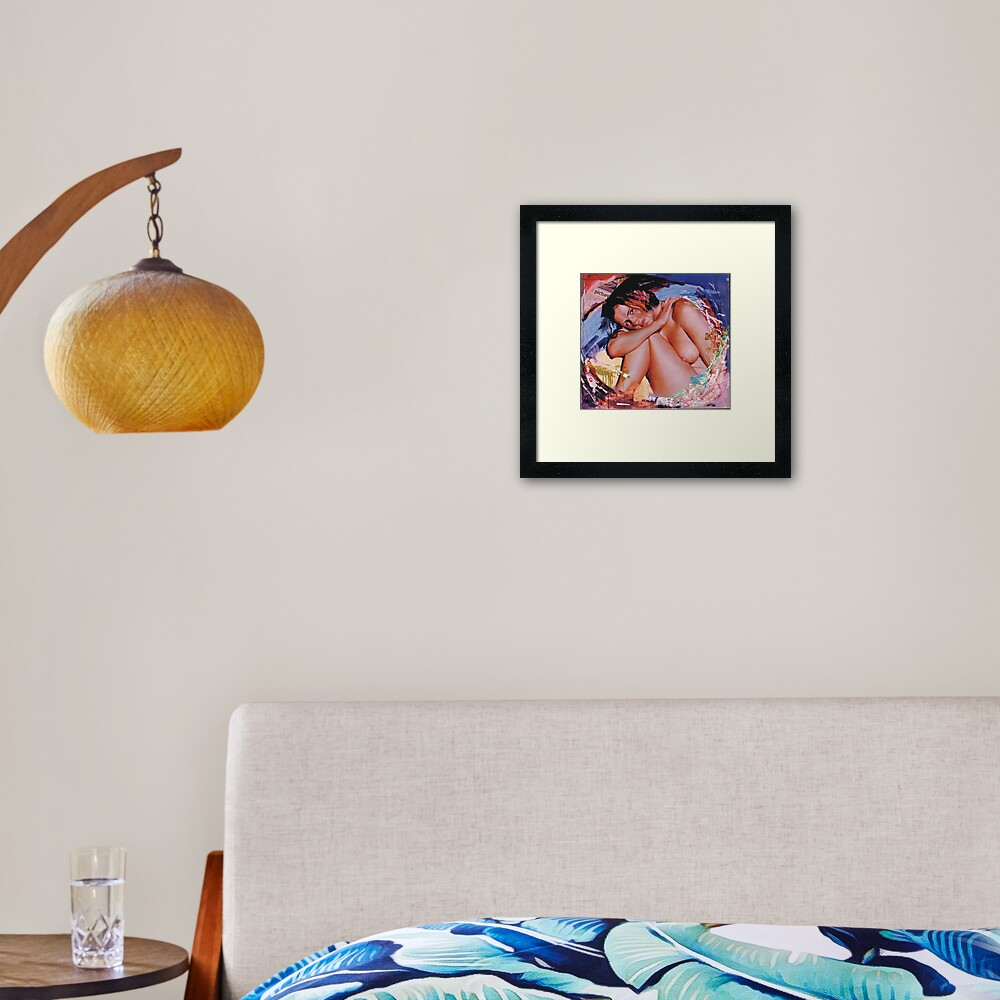 Arethusa Framed Art Print