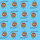 Overwhelmed Orange by fishcakes