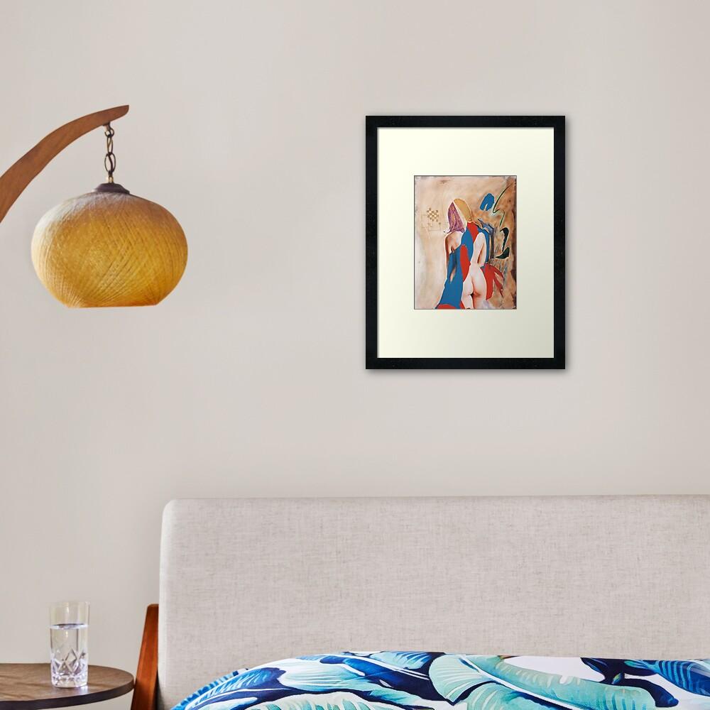 Antigone Framed Art Print