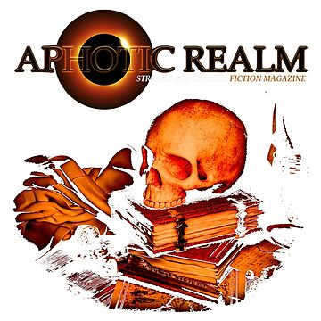 Aphotic Realm -- Skull and Tomes by AphoticRealm