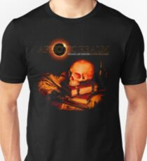 Aphotic Realm -- Skull and Tomes Unisex T-Shirt