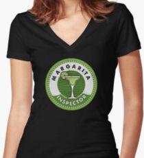 Margarita Inspector Cinco de Mayo Party T Shirt Women's Fitted V-Neck T-Shirt