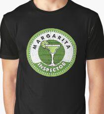 Margarita Inspector Cinco de Mayo Party T Shirt Graphic T-Shirt