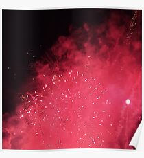 GALAXY OR FIREWORKS  Poster