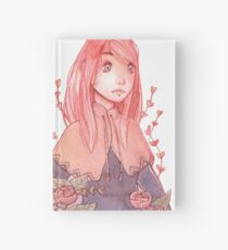 Red Plants Hardcover Journal