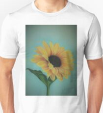 A Single Sunflower Unisex T-Shirt