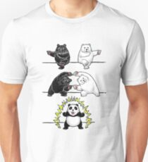fusion of panda Unisex T-Shirt