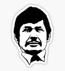 Charles Bronson stencil Sticker